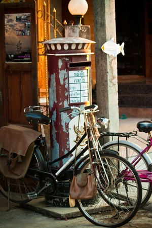 bicicleta retro: bicicleta