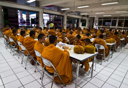 religio life in Thais new year