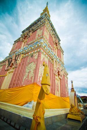 buddhist stupa: Buddhist stupa Stock Photo