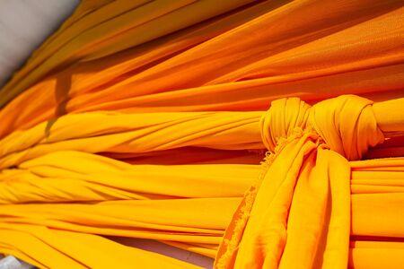 Robe: yellow robe