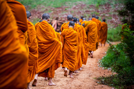 birthday religious: Route of the clergy In Buddhism