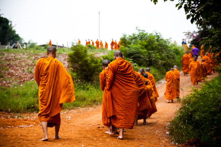 Route of the clergy In Buddhism