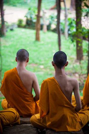 monks: monks Stock Photo