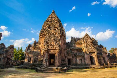 civilization: Castle s ancient Khmer civilization Stock Photo