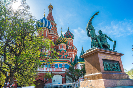 st.basil's cathedral  Moscow Stock Photo