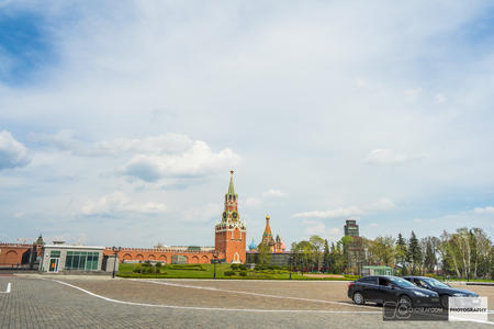 The Grand Kremlin palace and red square