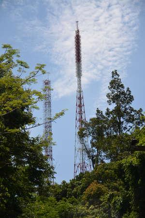 at communication: Communication era Stock Photo