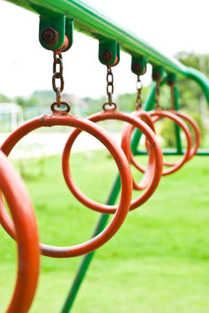 Loop in a play park Stock Photo - 10431840