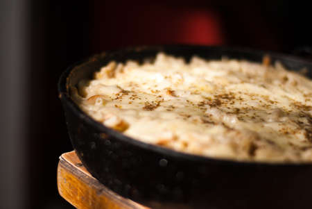 pasta Macaroni with cheese Baked