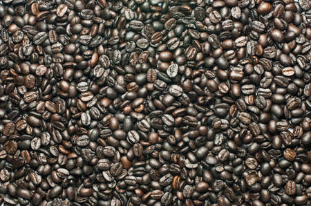 Background of coffee beans and aroma  photo