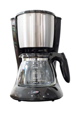 electric coffee maker  on a white background