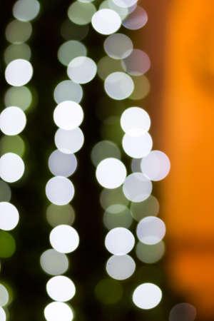Colorful color lights bokeh background, Chrismas lights bokeh Stock Photo