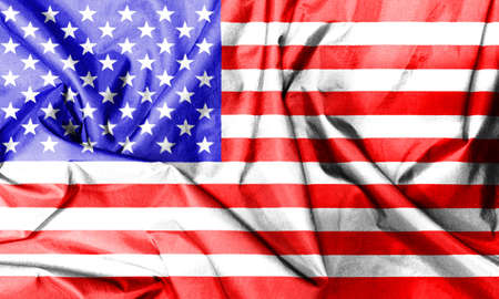 crease: the crease of american flag