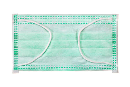 surgical mask: Protective face mask - surgical mask - on white background