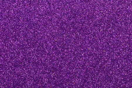 purple glitter texture background close up