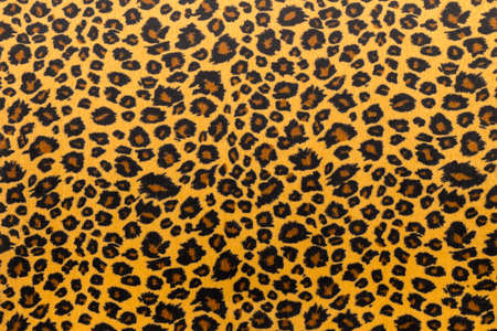 closeup artificial tiger skin pattern Background Stock Photo