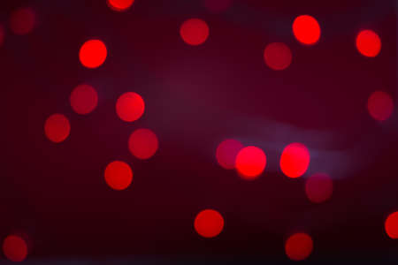 Christmas or Chinese new year abstract background red bokeh Stock Photo