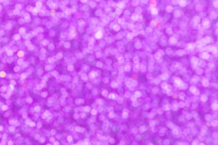 Abstract background purple bokeh  for Christmas background Stock Photo