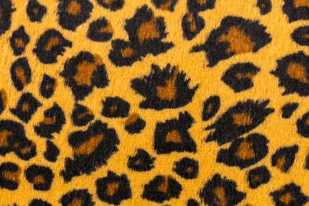 closeup artificial tiger skin pattern Background Stock Photo