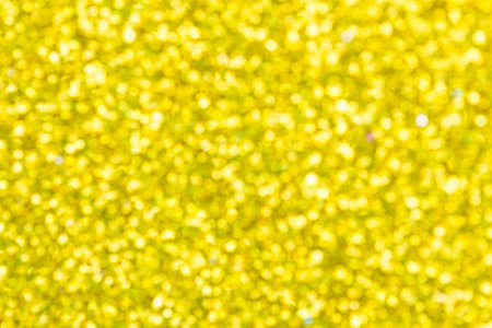 Abstract background yellow bokeh  for Christmas background
