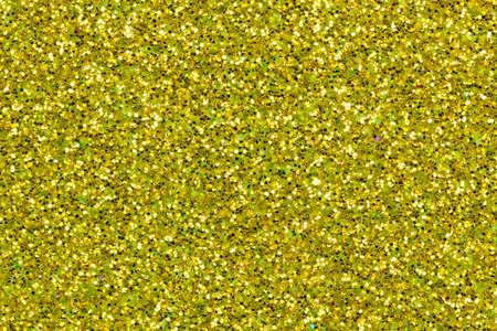 golden glitter texture background close up