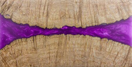 Casting epoxy resin Stabilizing Afzelia burl wood abstract art background texture for blanks 写真素材