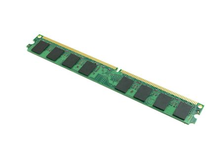 Computer equipment RAM ddr2 2Gb for PC at white background