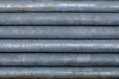 Metal pipes galvanic background