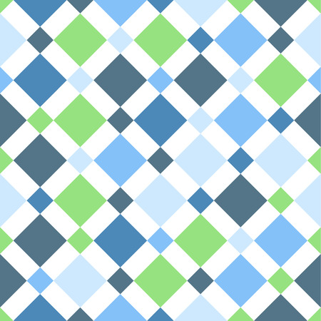 diamond shaped: Seamless vector colorful fantasy rhombus pattern. Abstract pattern
