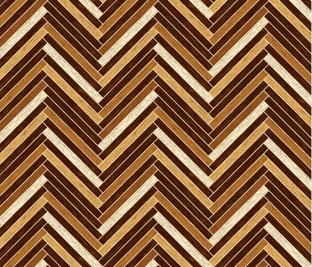 hardwood flooring: Parquet pattern in dark brown colors