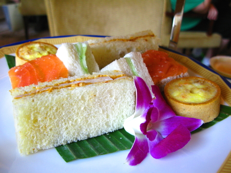 afternoon tea: Sandwiches of Afternoon Tea