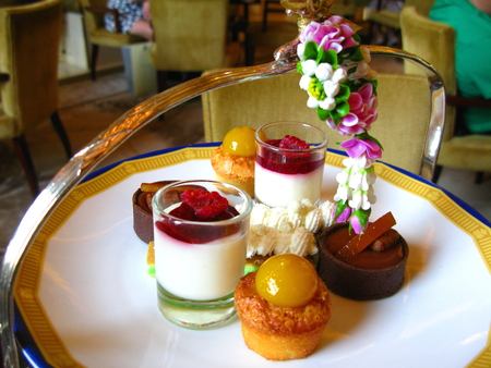 Desserts of Afternoon Tea