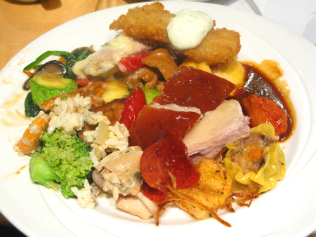 marvellous: Main Course of Buffet