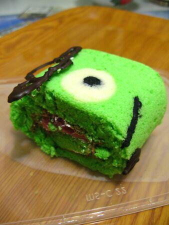 jelly: Green Tea Jelly Cartoon Cake