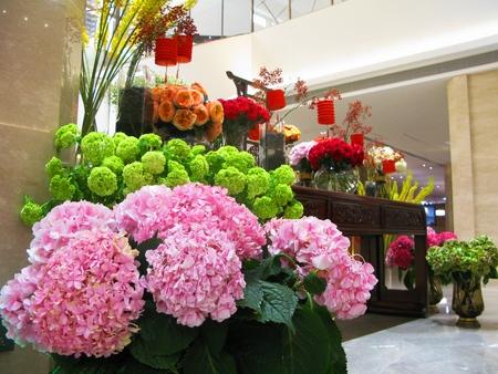 dekoracja: Flower Decoration Zdjęcie Seryjne