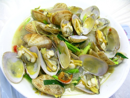 superior: Boiled Clams in Superior Soup