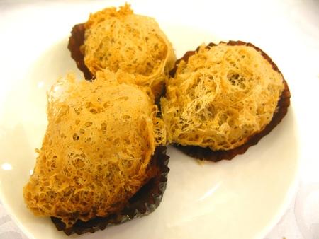 deep fried: Deep Fried Taro Dumpling Stock Photo