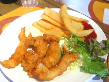 British Style Fish and Chips