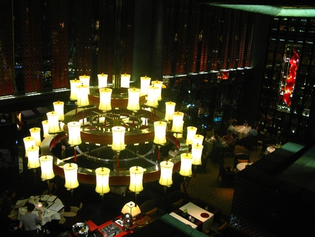 droplight: Big Pendant at Night