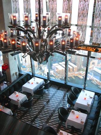 droplight: Ceiling Lamp at Restaurant