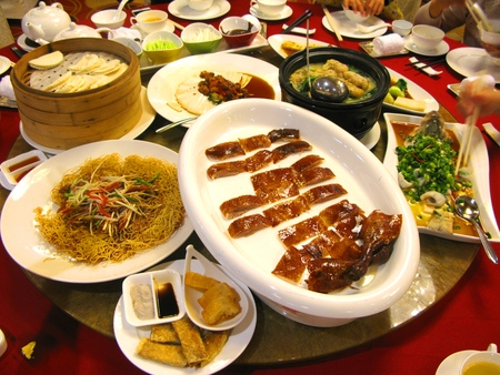 Chinese Banquet Stock Photo