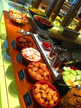 Dessert and Fruit Corner 版權商用圖片