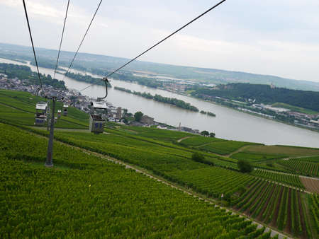 Cable car in Rudesheim