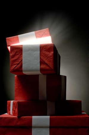 waited: magiñ long waited  Christmass presents from Santa