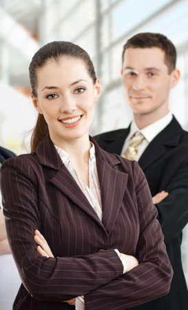 team of successful smiling young business people Stock Photo - 4477926