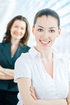 team of successful smiling young business people Stock Photo - 5144756