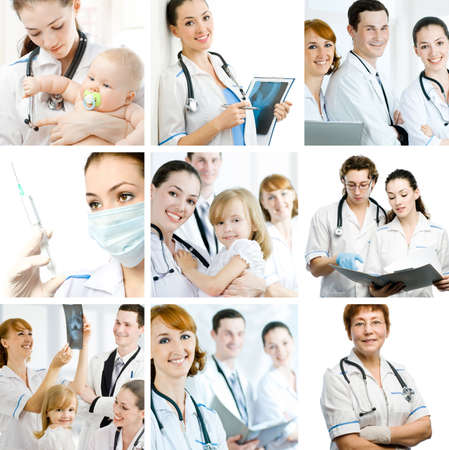 a team of experienced highly qualified doctors Stock Photo - 5748553