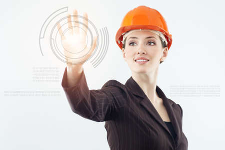 successful person making use of innovative technologies Stock Photo - 6457759