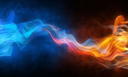 blurry bright background abstraction with coloured lines photo