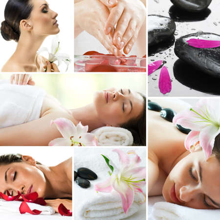 beautiful girl is being spa Stock Photo - 9998569